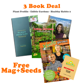 3 Book Deal Free Vasilis Garden Mag' Issue28 Big Malaka tomato seeds