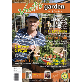 Vasili's Garden to Kitchen Magazine - Autumn 2014 - Issue 1