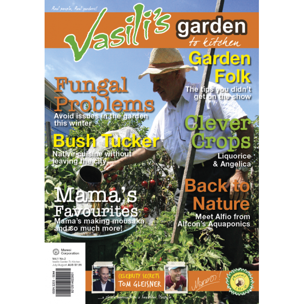 Vasili's Garden to Kitchen Magazine - Winter 2014 - Issue 2