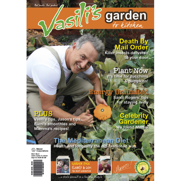 Vasili's Garden to Kitchen Magazine - Summer 2014/15 - Issue 4