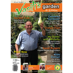 Vasili's Garden to Kitchen Magazine - Autumn 2015 - Issue 5