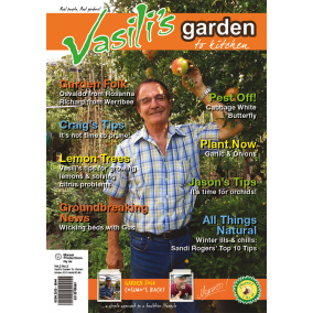 Vasili's Garden to Kitchen Magazine - Winter 2015 - Issue 6