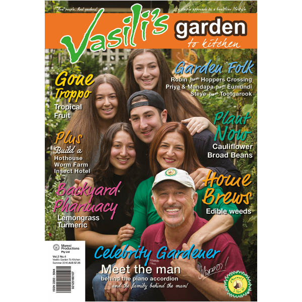 Vasili's Garden to Kitchen Magazine - Autumn 2016 - Issue 9