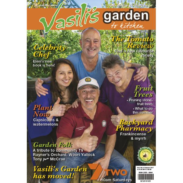 Vasili's Garden to Kitchen Magazine - Issue 12 - Summer 2016/17