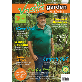 Vasili's Garden to Kitchen Magazine - Winter 2017 - Issue 14