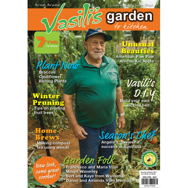 Vasili's Garden to Kitchen Magazine - Issue 14 - Winter 2017