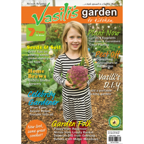 Vasili's Garden to Kitchen Magazine - Spring 2017 - Issue 15