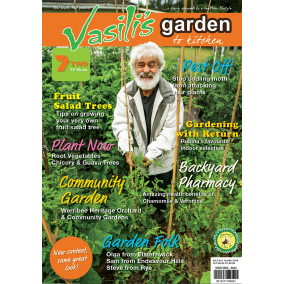 Vasili's Garden to Kitchen Magazine - Autumn/Winter 2018 - Issue 17