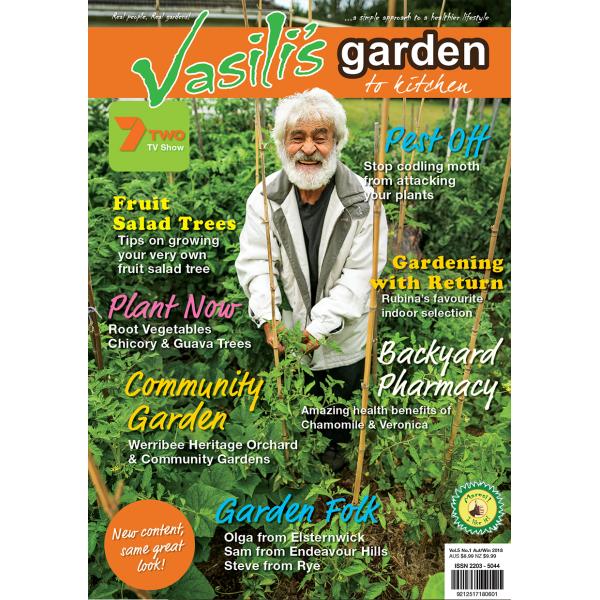 Vasili's Garden to Kitchen Magazine - Autumn/Winter 2018 - Issue 17