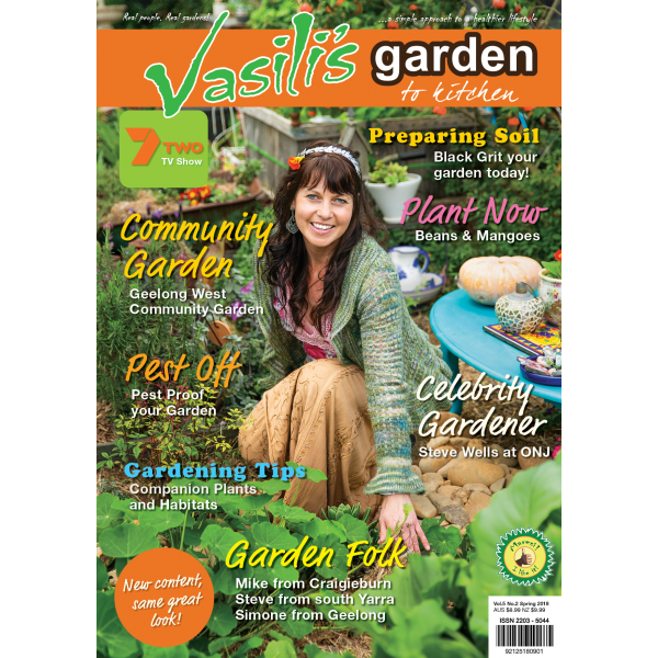 Vasili's Garden to Kitchen Magazine - Issue 18 - Spring 2018