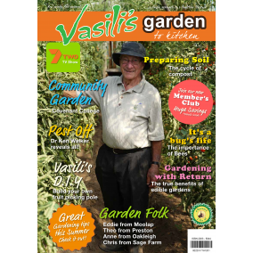 Vasili's Garden to Kitchen Magazine - Issue 20 - Autumn 2019