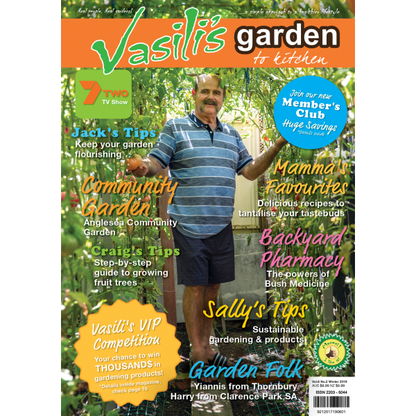 Vasili's Garden to Kitchen Magazine - Winter 2019 - Issue 21