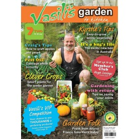 Vasili's Garden to Kitchen Magazine - Issue 25 - Winter 2020