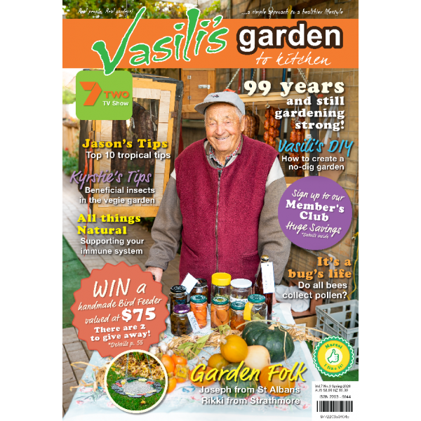 Vasili's Garden to Kitchen Magazine - Issue 26 - Spring 2020