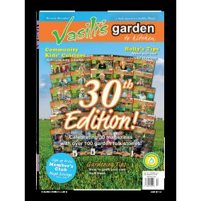 Vasili's Garden to Kitchen Magazine - Issue 30 - Spring 2021