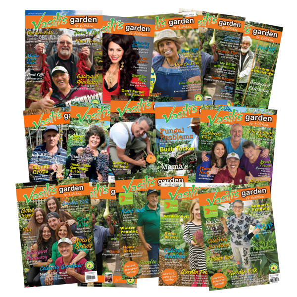 15 issues - Vasili's Garden Magazine SUPER SPECIAL!