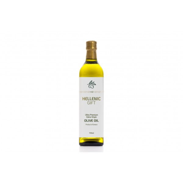 Hellenic Gift Single Bottle Extra Virgin Olive Oil