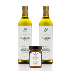 Hellenic Gift 2 Oil & Special Reserve Honey