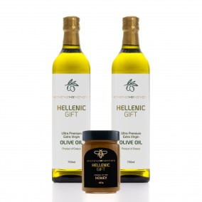 Hellenic Gift 2 Oil & Organic Honey