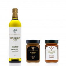 Hellenic Gift Oil & Honey Combo