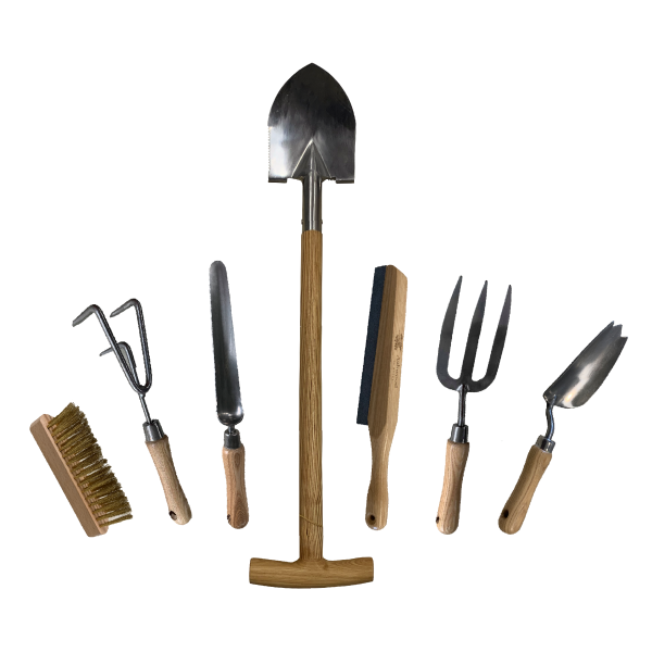 6 Pack Hand Tools + T Spade