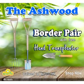 The Ashwood Border Pair + Free Hand Transplanter