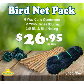 Bird Netting Pack Black