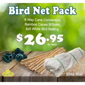 Bird Netting Pack White
