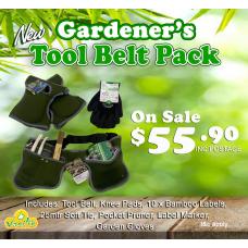 Gardener's Tool Belt Pack