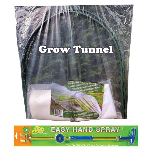 Grow Tunnel + Easy Hand Sprayer