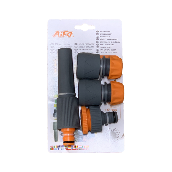 AIFA 4 Piece Hose Fitting Set