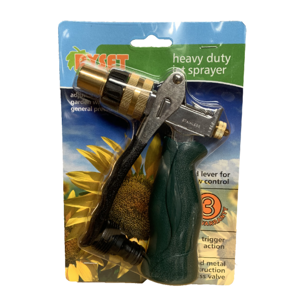 Heavy Duty Jet Sprayer - Adj' Pistol Nozzle