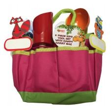 8 Piece Kids Tool Kit - Pink
