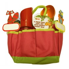 8 Piece Kids Tool Kit - Red