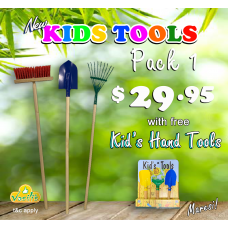Kids Tools Pack 1 with Free Kid's Hand Tools