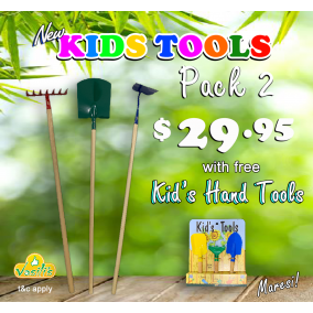 Kids Tools Pack 2 with Free Kid's Hand Tools