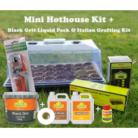 Mini Hothouse Kit + Black Grit Pack + Italian Grafting Kit