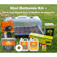 Mini Hothouse Kit + Black Grit Pack + Wellkut Kit