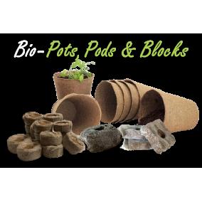 Bio-Pots + Pods + Blocks