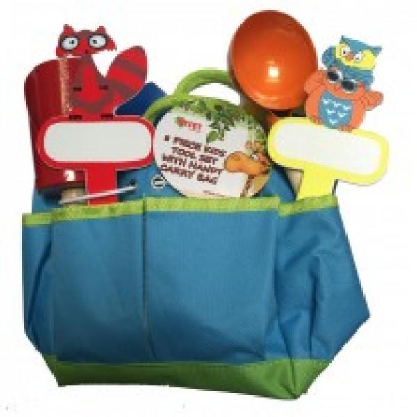 8 Piece Kids Tool Kit - Blue