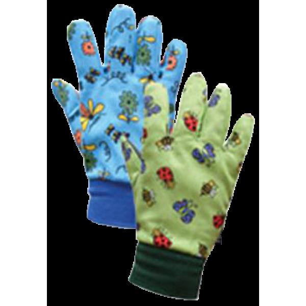 Gloves Bounty Kids Blue Green assorted