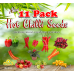 11 Pack Hot Seeds