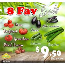 8 Fav Seeds