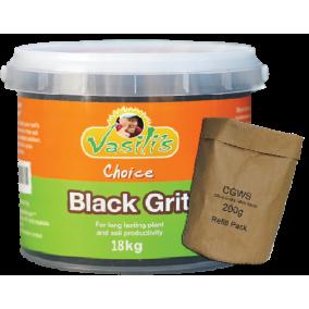 Black Grit 18kg + CGWS 200g Refill