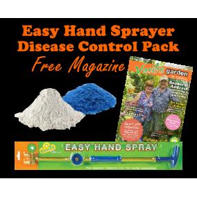 Easy Hand Sprayer + Disease Pack w Free Mag VGK29