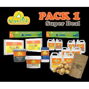 Pack 1+ BONUS Potatoes & Instant Gravy