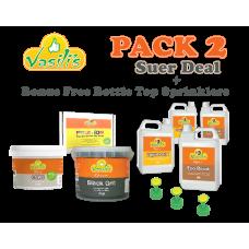 Pack 2 + Bottle Top Sprinklers