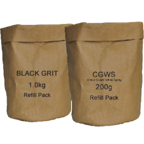 Refill Double Deal Black Grit 1kg CGWS 200g