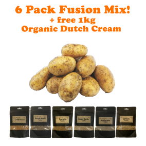 6 Pack Fusion + 1kg Dutch Potato