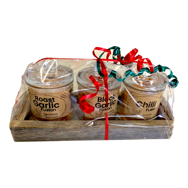3 Gift Pack Fusions - 3 Glass Jars in Tray